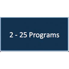 2 - 25 Program Subscriptions